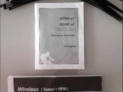 Ciclocomputador Echowell A2 25F Wireless c/ Cadênc